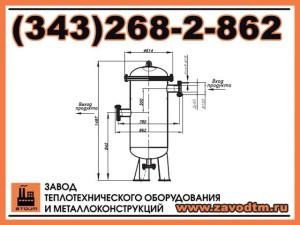 Фильтр сетчатый жидкостный ФСЖ 80-80-3